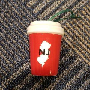 NWOT NJ Starbucks 2016 Edition Ornament
